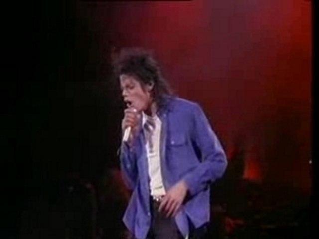 man in the mirror moonwalker concert