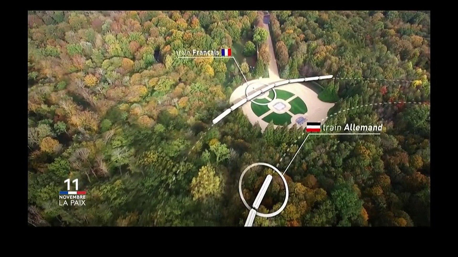 11-Novembre : visitez le wagon de Rethondes où a été signé l'armistice