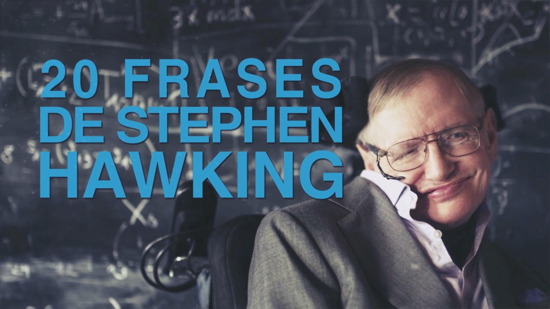 20 Frases De Stephen Hawking El Genio Del Universo