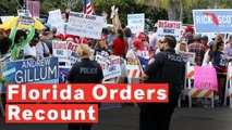 Florida Officially Orders Vote Recount In Senate And Governor Races