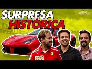 Vettel x Acelerados de Ferrari 488: o dia em que enganamos Cassio e Gerson - Especial #223 by Shell