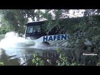 Beautiful Amphibious River Bus Tour