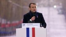 Discours du Président de la République, Emmanuel Macron à la cérémonie internationale du Centenaire de L'Armistice du 11 Novembre 1918 à L'arc de Triomphe
