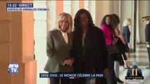 Brigitte Macron reçoit à présent à Versailles 45 conjoints de dignitaires pour un déjeuner