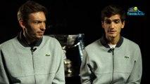 """ATP - Nitto ATP Finals 2018 - Nicolas Mahut et Pierre-Hugues Herbert : """"On ne se met pas la pression sur ce Masters de Londres"""""""