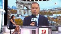 11 Novembre - Une Femen a bien approché la voiture de Donald Trump sur les Champs Elysées: la preuve en image