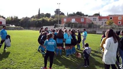 Victoire des séniors F et U18F le 11/11/2018