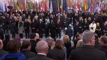 Cérémonie internationale du Centenaire de l'Armistice du 11 novembre 1918 à l'Arc de triomphe