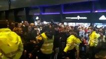 Celta-Real Madrid: Llegada del Real Madrid a Balaídos
