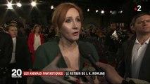"""""""Les Animaux fantastiques"""" : le retour de l'écrivaine J. K. Rowling"""