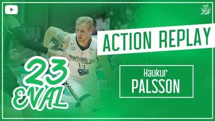 Les highlights du MVP Haukur Palsson