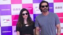 Arjun Rampal spotted with girlfriend Gabriella Demetriades at event; Watch Video   FilmiBeat