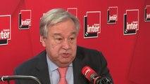 """Antonio Guterres : """"Il ne faut pas considérer que ce qui se passe en Syrie est la responsabilité des Nations unies"""""""