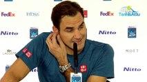 """ATP - Nitto ATP Finals 2018 - Roger Federer avertit par l'arbitre : """"Je n'étais pas énervé, là je suis énervé d'avoir perdu"""""""