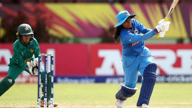 ICC Women's T20 World Cup,IND VS PAK : Pak Docked 10 Runs Against India for Running On The Pitch
