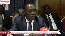 """Grève dans le secteur de la santé : Dr, Aka Aouélé, """"les questions relevant de la compétence du ministre de la santé ont été quasiment toutes réglées"""""""