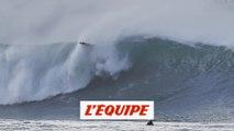 la chute de Pilou Ducalme - Adrénaline - Surf