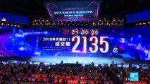 China 'singles day' shopping frenzy shatters records again