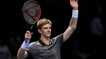 Kevin Anderson asks crowd to sing 'happy birthday' to his wife at after tennis match