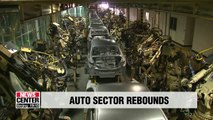 Korea's auto sector rebounds in Oct. on more working days