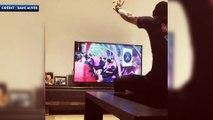 Quand Dani Alves se transforme en supporter devant Monaco-PSG