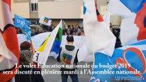Manifestation des enseignants à Bourg-en-Bresse