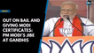 Out on bail and giving Modi certificates: PM Modi's jibe at Gandhis