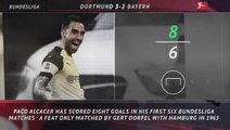 5 things... Paco Alcacer equals 55-year-old Bundesliga scoring feat