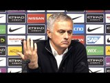 Manchester City 3-1 Manchester United - Jose Mourinho Full Post Match Press Conference - Derby
