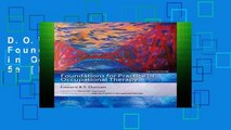 D.O.W.N.L.O.A.D [P.D.F] Foundations for Practice in Occupational Therapy, 5e [P.D.F]