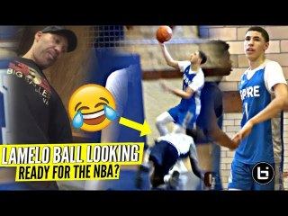 LaMelo Ball RESPONDS to OVERRATED Chants & DROPS a Double Double In 1st Game For Spire!
