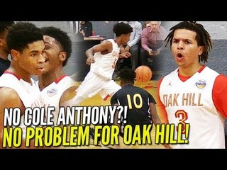 No Cole?! NO PROBLEM! Oak Hill STILL SCORES 100+ and a PERFECT 4-0!