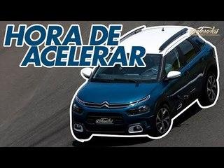 Citroën C4 Cactus na pista! Rubinho acelera forte o novo SUV na Volta Rápida #158 | Acelerados