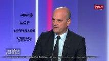 IEducation nationale : Jean-Michel Blanquer annonce 10,98% de grévistes et évoque un chiffre bas