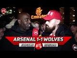 Arsenal 1-1 Wolves | Mustafi Was Suspect! Bring Back Sokratis! (Turkish)