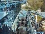 EURO MIR montagne russe looping  roller coaster