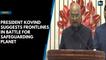 President Kovind suggests frontlines in battle for safeguarding  planet