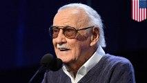 Legendary Marvel comics creator Stan Lee dies aged 95