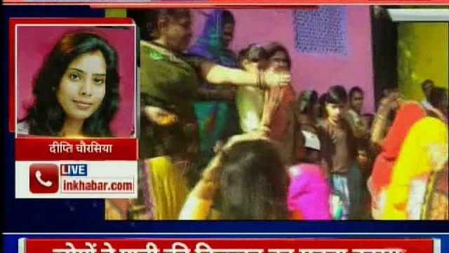 Madhyapradesh: सी एम शिवराज सिंह की पत्नी साधना सिंह से लोगो ने की पानी की मांग