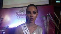 Miss Universe Philippines Cartriona Grey on sexual harrasment in Miss Earth