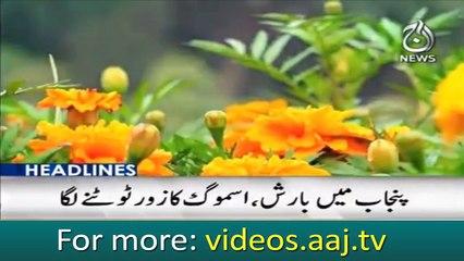 Headlines 12:00 – 13 November 2018   Aaj News