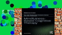 [P.D.F] Mindfulness-Based Cognitive Therapy (CBT Distinctive Features) [P.D.F]