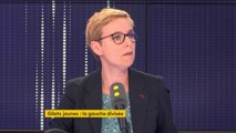 """Mobilisation des gilets jaunes : """"J'entends cette colère mais je n'y participerai pas personnellement"""", explique Clémentine Autain, députée La France insoumise de Seine-Saint-Denis"""