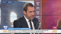 """Gilets jaunes: Christophe Castaner """"demande qu'il n'y ait aucun blocage total"""""""