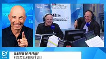 """François Hollande sur la possible candidature de Ségolène Royal à la présidentielle de 2022 : """"Qu'est-ce qui lui arrive à Mémère Flowers ?"""" (Canteloup)"""
