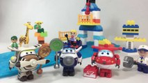 Super Wings Construction Blocks Jett Control Tower Paul Belo 출동슈퍼윙스 超级飞侠 || Keith's Toy Box