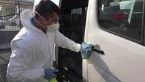 Öğrenci Servisleri, Gribal Enfeksiyona Karşı Dezenfekte Edildi