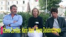 Les chatouilles : rencontre avec les acteurs  Clovis Cornillac, Karin Viard et Pierre Deladonchamps