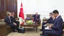 Bakan Soylu, Almanya İçişleri İmar ve Yurt Bakanlığı Müsteşarı Engelke'yi kabul etti - ANKARA
