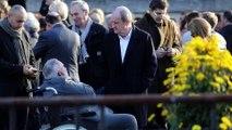 José Garcia en blanc aux obsèques de Philippe Gildas : sa réaction au piège